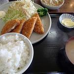 興ちゃん亭 - ハムチーズ定食
