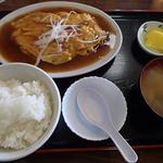 興ちゃん亭 - 蟹玉定食