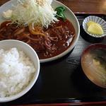 興ちゃん亭 - ハンバーグ定食