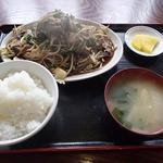 興ちゃん亭 - ニラレバー定食