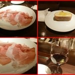オステリア ハナタニ - ペルシュウ、赤ワイン