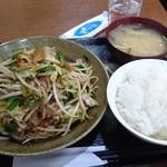 Kashiwaya - 野菜炒め定食