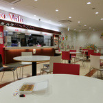 味奉行 - 内観写真:本店さんは創業30年!「味奉行」の一口餃子をカロヴァーレさんのテーブル席で頂きまっす☆