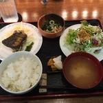 ごんわーるど - 魚系のランチ(キビレのロースト)850円
