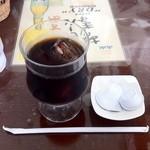 ふれあい名産館 まつや - アイスコーヒー