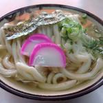 桑島製麺所 - かけうどん大(*´д`*)350円