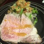 くらおか亭 - ¥7,000コース 佐賀牛のローストビーフ