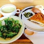 コノハ - 料理写真:ハンバーグ風ミートパイ&食事セット 計760円