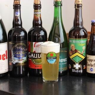 駒込ではめずらしいベルギービール