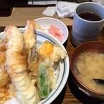 海鮮串天ぷら 中野家 - 2016年2月追加/1,000円天丼「サウザン」