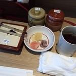 海鮮串天ぷら 中野家 - 2016年2月追加/嬉しい卓上セット♪
