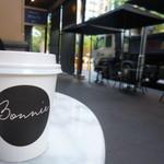 Bonnie Coffee Co - ドリンク写真:フラットホワイト 3.8 $