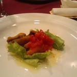 サント ルーチェ - パスタランチの前菜