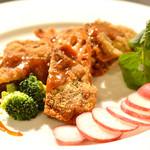 南あわじ美食農園オリザ - 鹿肉のカツレツ