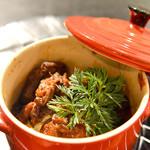 南あわじ美食農園オリザ - 鹿肉のトマト煮込み