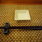 ちとせ鮨 - 料理写真:テーブルセットはこんな感じ☆