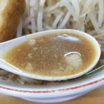 ラーメン龍郎 - スープ