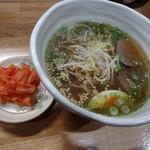 47623087 - 温麺ハーフサイズ700円(税込)