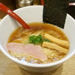 麺屋 正路 - 醤油ラーメン 麺が細い