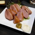 エナブ - 紅茶鴨の燻製¥680