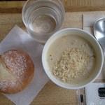 スープストックトーキョー - オニオンクリームスープ