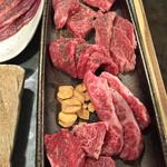 47628468 - 肉盛り6種