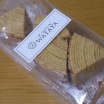 ウンシュウ ワタヤ - バウムクーヘンのソフトタイプ 700円