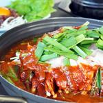美蘭 - 料理写真:韓国風もつ鍋