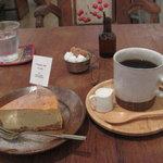 トリトリノキ - 有機栽培バナナのベイクドチーズケーキ