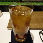 ホルモン串焼き 丸高 - ☆ウーロン茶で乾杯です☆