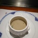 47634928 - スープ:ごぼうのポタージュ