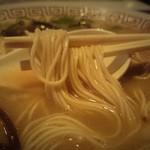へのへのもてじ - 細麺のカタメ