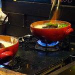 ステーキ&ハンバーグ ひげ - ラムバーグのチーズ煮込み200g1600円