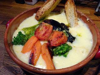 ステーキ&ハンバーグ ひげ 札幌南5条本店 - ラムバーグのチーズ煮込み200g1600円