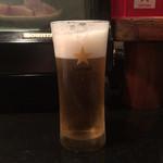 宴や - 生ビール