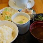はみんぐばーど - 朝定食セット【2016.2月再訪】