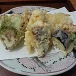 47645437 - 真鯛と野菜の天婦羅
