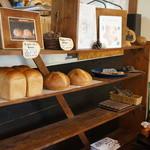 手作りパン ふくふく - 食パンたちのコーナー