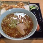 かくほん食堂 - げそ天中華 ¥750