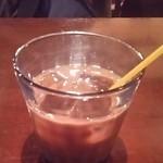 タパス&タパス - アイスコーヒー(ドリンクバー)