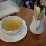 44 - デリランチ(880円)のスープ