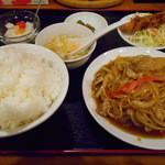 台湾料理 味軒 - 生姜焼肉定食