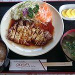 47657006 - トンテキチーズ焼き定食