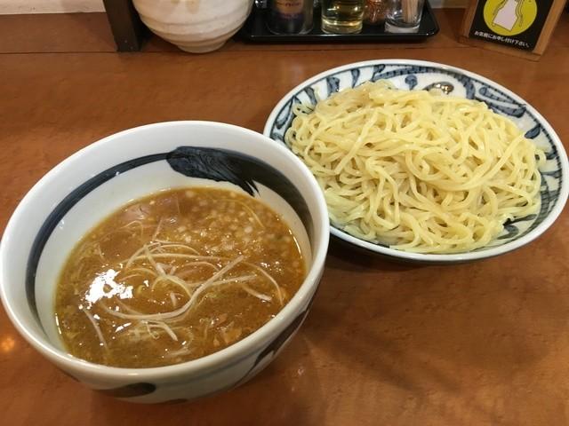 つけめんでんまる 南青山店 - Wチャーシュー味噌つけ麺