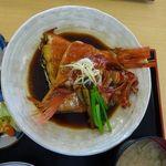 海辺 - 金目鯛の煮つけ定食