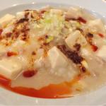 kawaramachibambi - 白麻婆丼