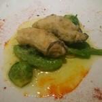 47660852 - 牡蠣と春野菜のガーリックソテー