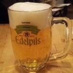 キッチン ロッコ - 生ビール