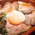 47662298 - イベリコローストポーク丼 1100円