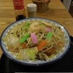 喫茶・カフェバー すうぃーとはーと - 長崎はまちゃんぽん800円。ソースも長崎から取り寄せ。